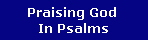 Praising God 