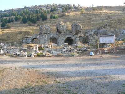 Ephesus bath house